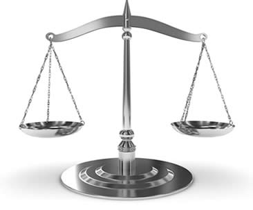 image of justice scale